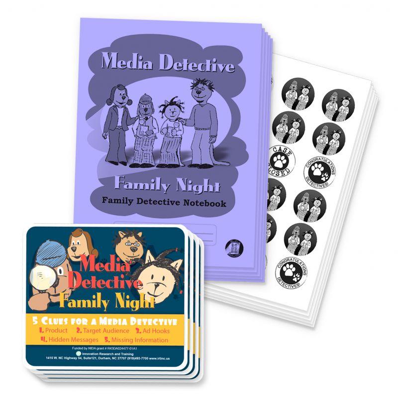 iRT Media Detective Family Night Product Screenshot